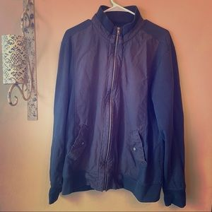 Banana Republic Men's Utility Jacket Navy size XL
